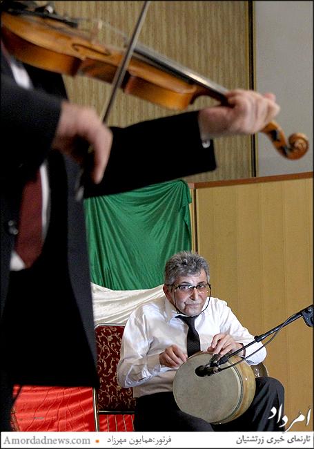 نوازنده تنبک: استاد مسعود قدوسی