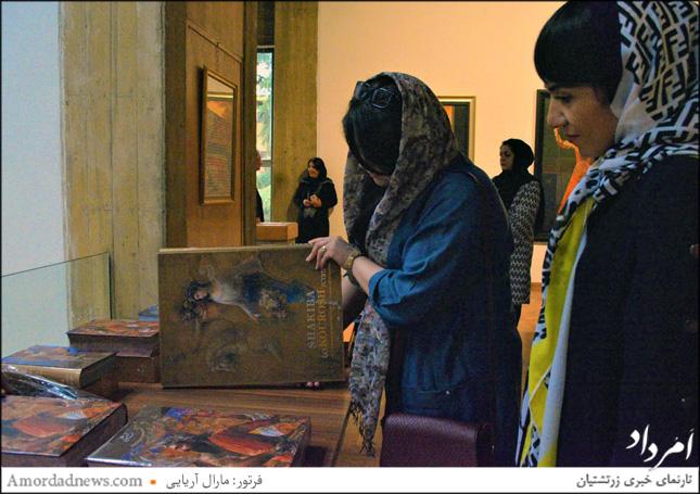 کتابهای گوناگونی که از آثار استاد شکیبا به دست برادران میرباقری از خانه فرهنگ و هنر گویا به چاپ رسیدهاست برای دوستدارانش به نمایش گذاشته شد.