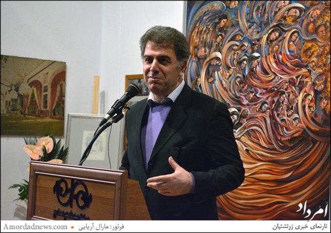 عباس سجادی سرپرست فرهنگسرای نیاوران و مدیرعامل بنیاد آفرینشهای هنری نیاوران