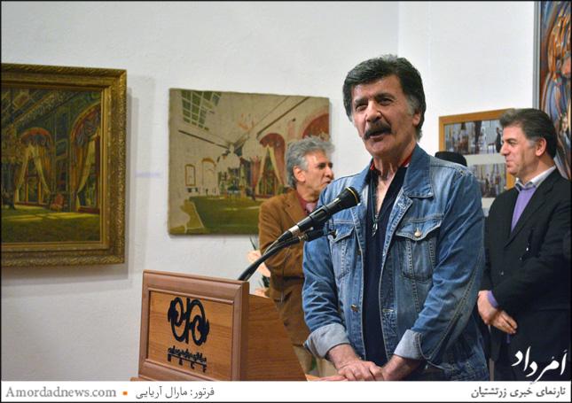 داوود حیدری از هنرمند و گوینده پیشکسوت رادیو