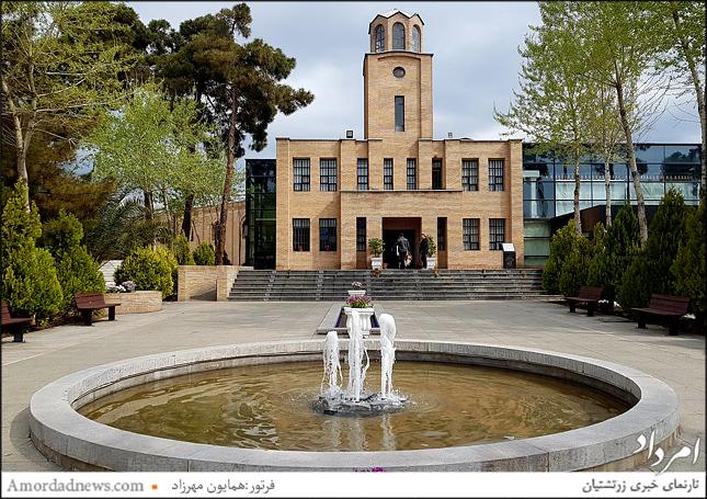 بنای زمان قاجار موزه قصر