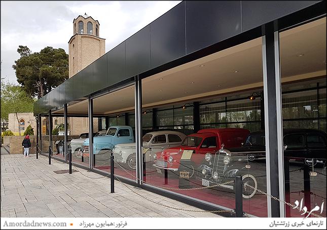 نمایشگاه ماشینهای کلاسیک باغ موزه قصر