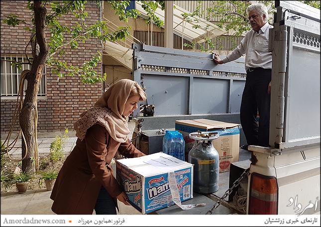 میترا نمیرانیان مدیرداخلی خانه فرهنگ و هنر زرتشتیان تهران