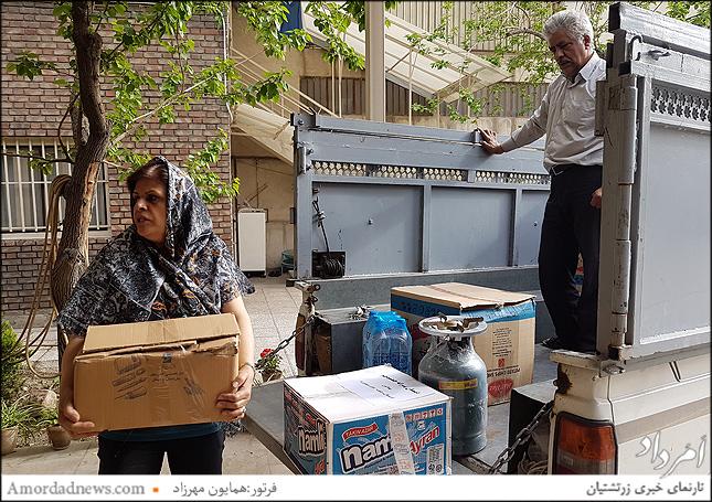 مهردخت شهریاری هموند انجمن زرتشتیان تهران