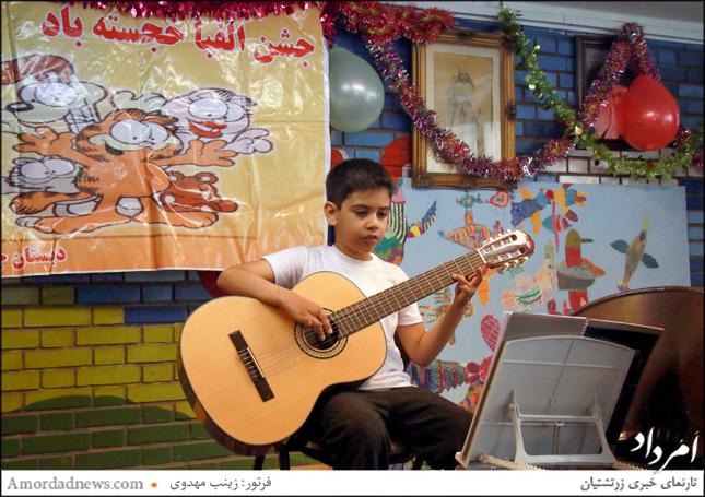 سهیل آگرآگر، نوازنده گیتار