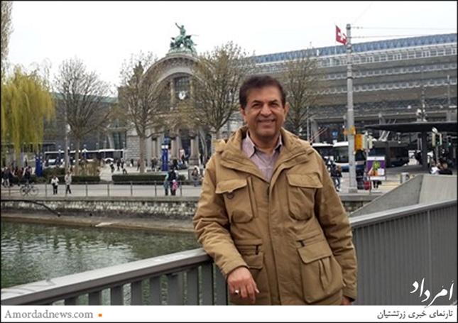 *دکتر مهران سپهری، استاد مدعو دانشکده مدیریت و اقتصاد، دانشگاه صنعتی سویس (ETH) مقابل دانشکده در زوریخ