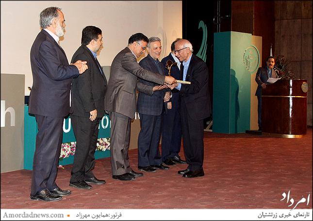 سپاسداری از اساتید منتخب و برجسته دانشگاه تهران