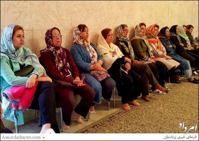 نخستین چهره گهنبار پنجشنبه 12 اردیبهشتماه 1398 خورشیدی در «درمهر» اصفهان برگزار شد