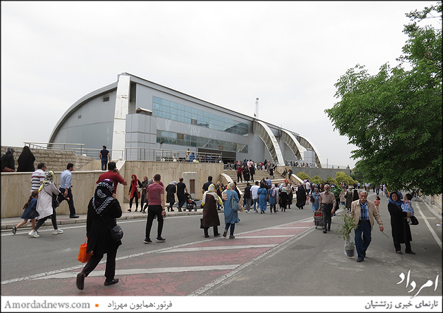 ورودی پارک گفتگو، نمایشگاه سالانهی گل و گیاه شهرداری تهران