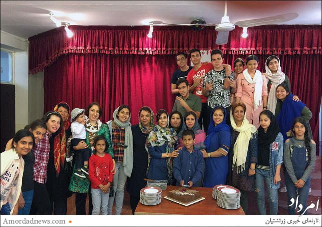 آدینه 13 اردیبهشتماه 1398 خورشیدی جشن سپاسداری از آموزگاران دینی در کرج برگزار شد
