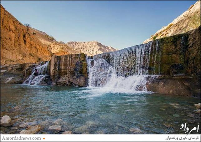 آبشار آبتاف  در استان ایلام  و در مسیر میمه به پهلهی زرینآباد شهرستان دهلران جای دارد