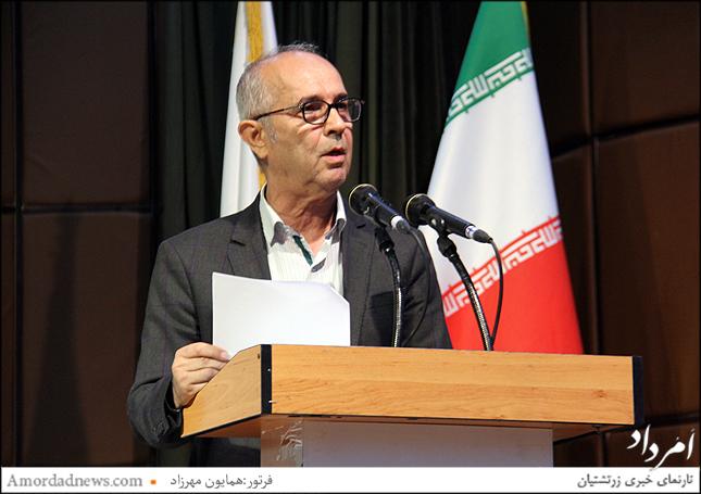 عبدالرحمن حسنی جستار «چرنیشفسکی و شاهنامهی فردوسی» را خواند