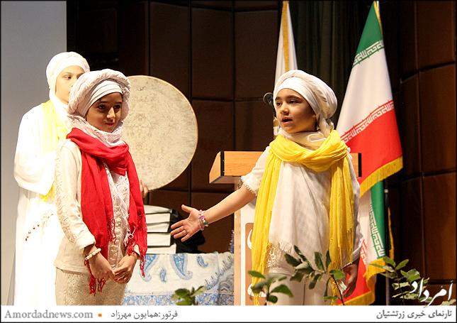 اجرای داستان سیاوش از سوی گروه شاهنامه خوانان زرتشتیان