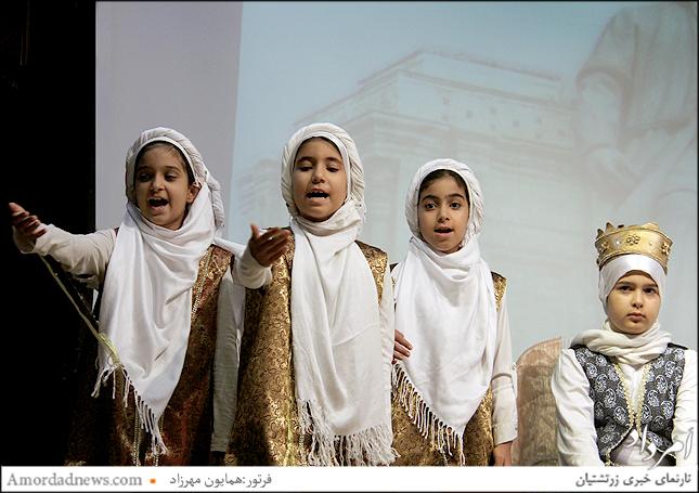 اجرای داستان سیاوش از سوی گروه شاهنامهخوانان زرتشتیان