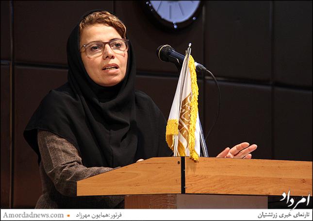 فاطمه آهنگری، دبیر اجرایی نظارت و بازرسی گروههای آموزشی اداره کل آموزش و پرورش تهران