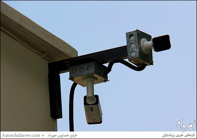 نصب پنج نقطه دوربین حفاظتی مداربسته در آرامگاه زرتشتیان تهران
