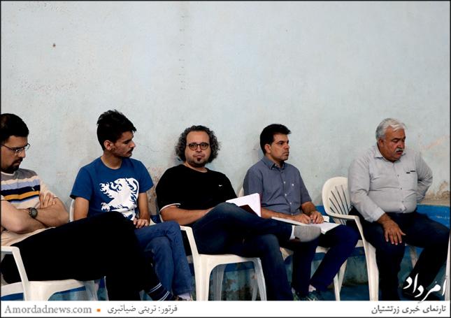 فرزاد نیکدین، رییس هیاتمدیره باشگاه اردشیر همتی کرمان، برگزارکنندهی جام اشا