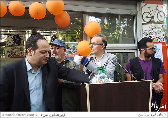 مهندس میلانی رییس کمیته محیط زیست شورای شهر تهران