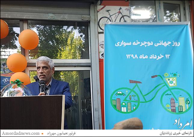 دکتر حجت جانشین سازمان حمل و نقل و ترافیک شهرداری تهران