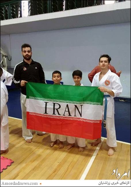تیم ایران با کسب دو برنز در جایگاه سوم ایستاد
