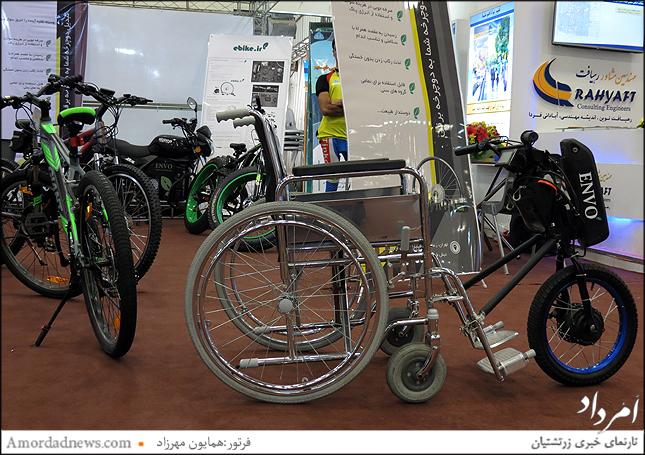 کیت کامل شرکت یکتا پرواز برای تبدیل هرنوع دوچرخه  معمولی به برقی ebike.ir