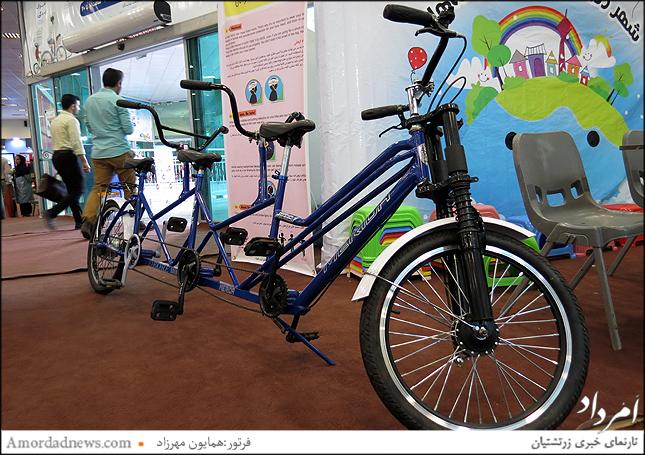دوچرخه سه نفره