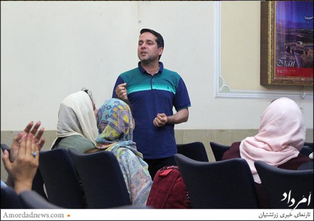 شهرام پوردهی، هموند هیاتمدیرهی انجمن زرتشتیان شیراز