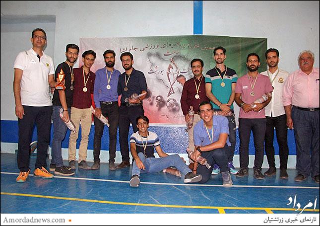 تیم یاشگاه اردشیر همتی کرمان، مقام دوم والیبال آقایان