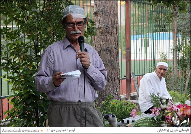 نمیرانیان درباره دهش های همکیشان در گهنبارها سخن گفت