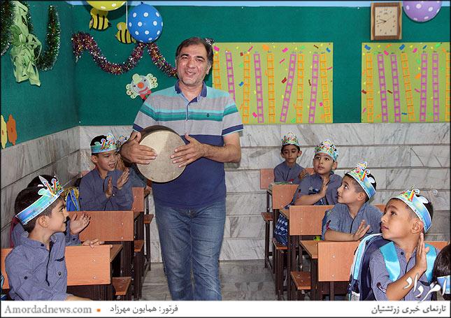 حاتمی آموزگار موسیقی پرورشی کودکان
