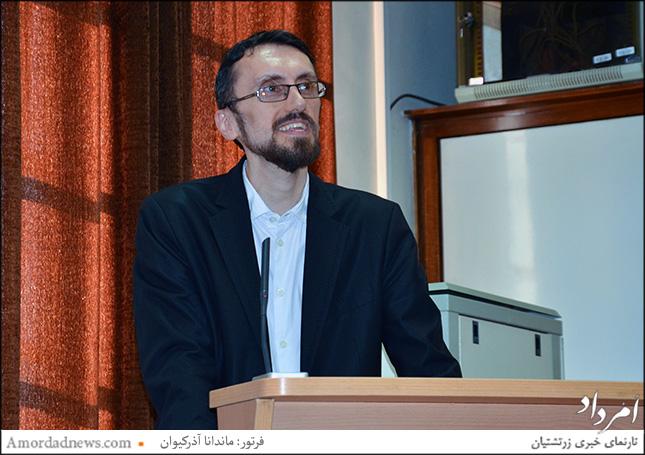 دکتر علی شهیدی، دکترای زبان و فرهنگهای باستان، دبیر همایش