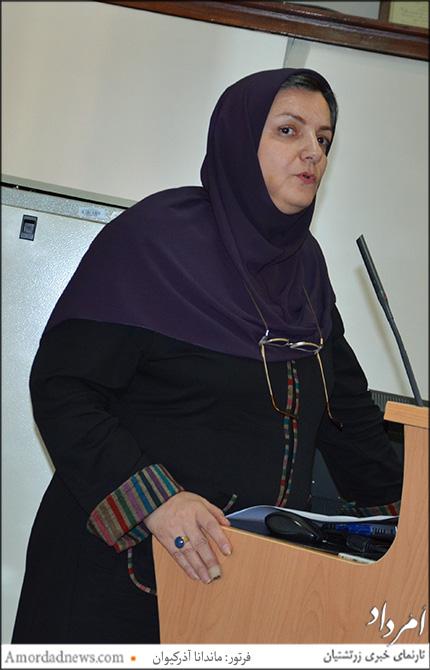 سوسن اصیلی، استاد کتابداری، و گردآورنده کتاب اسناد تاریخ دانشگاه تهران، موجود در كتابخانه مركزی و مركز اسناد دانشگاه