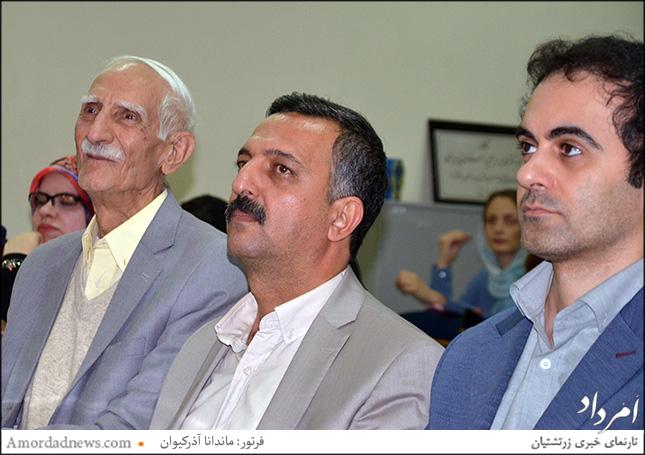 چهرهی میانی: موبد دکتر مهربان پولادی، دکترای فرهنگ و زبانهای باستانی
