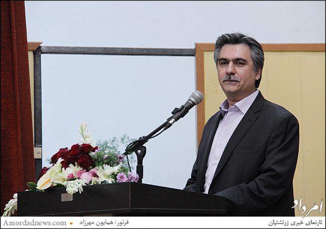 رامین خسروی جانشین فرنشن انجمن زرتشتیان تهران
