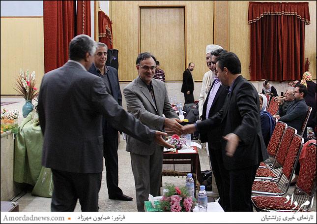 خوش آمدگویی از میردهقان مسوول امور ادیان وزارت ارشاد اسلامی
