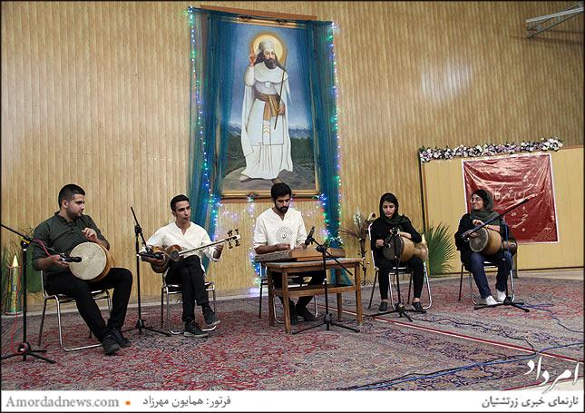 گروه موسیقی سنتی کانون دانشجویان زرتشتی
