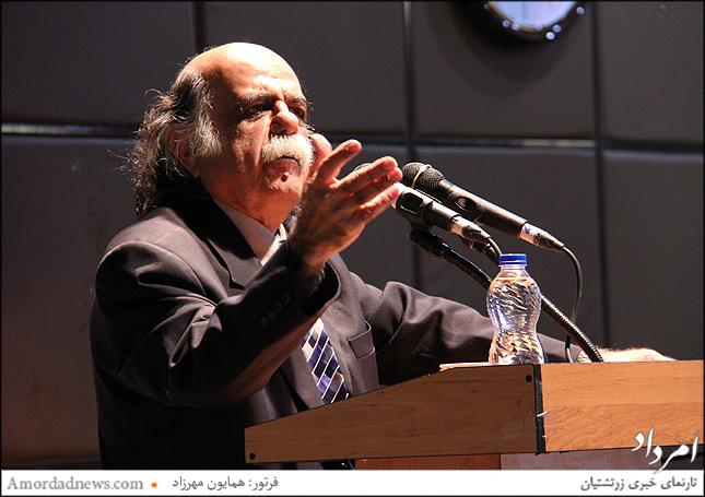 دکترمیرجلال الدین کزازی استاد دانشگاه، نویسنده، مترجم، شاهنامهپژوه و پژوهشگر برجستهی ایرانی در زبان و ادب فارسی