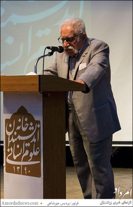 دکتر عبدالمجید ارفعی، پژوهشگر و متخصص زبانهای باستانی اکدی و ایلامی، ایلامشناس و مترجم خط میخی ایلامی