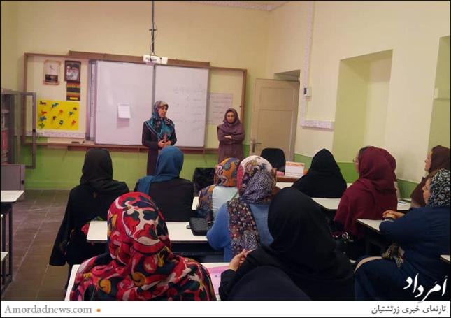نشست اولیا و آموزگار در آغاز سال تحصیلی و انتخاب نمایندگان کلاسی