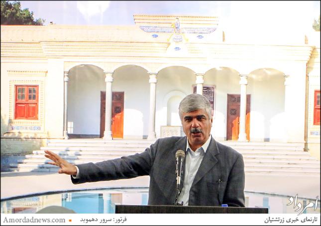 اسفندیار اختیاری، نماینده ایرانیان زرتشتی در مجلس