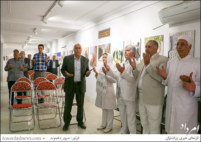 نمایندگان از انجمن موبدان یزد و انجمنهای زرتشتیان در دیدار با دستیار ویژهی رییسجمهور در امور اقوام و ادیان توحیدی