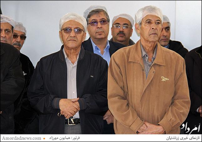 چهره میانی: افشین نمیرانیان فرنشین انجمن زرتشتیان تهران
