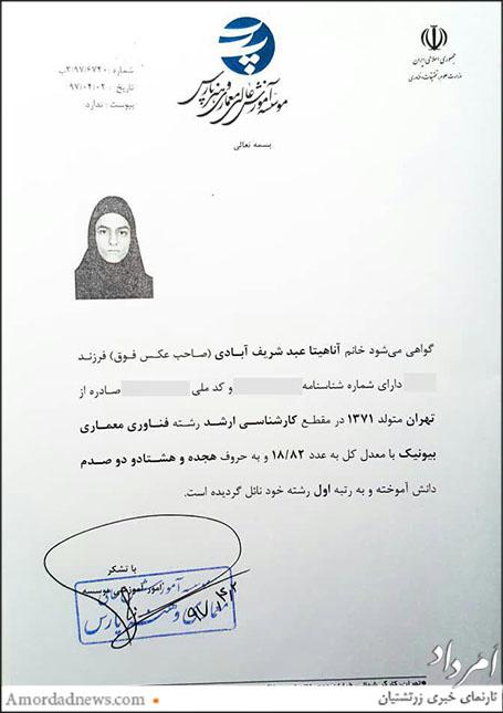 آناهیتا عبد شریفآبادی