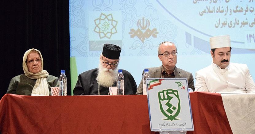موبد سروشپور در همایش شنبههای انقلاب