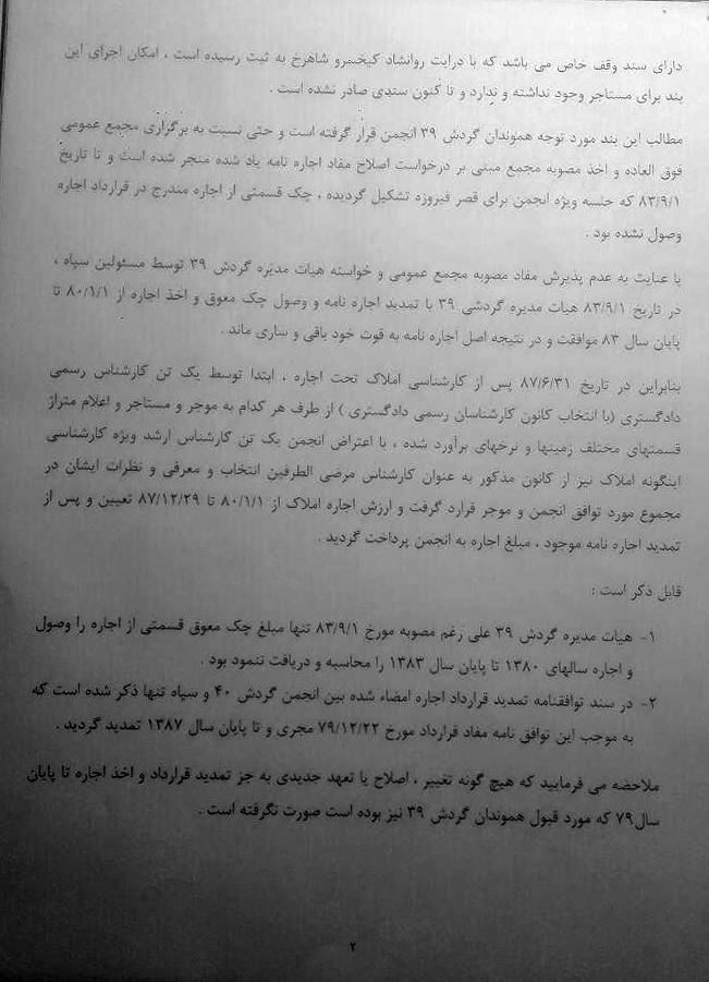 انجمن زرتشتیان  قصر فیروزه