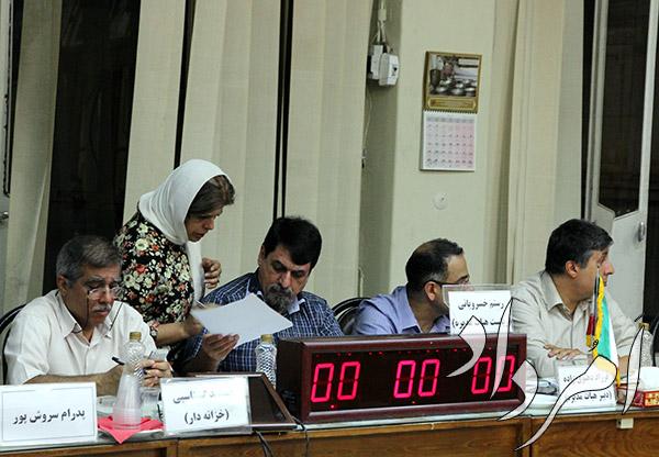 نشست هیاتمدیرهی انجمن زرتشتیان تهران