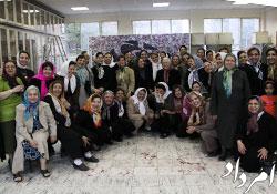 دید و بازدید نوروزی سازمان زنان زرتشتی