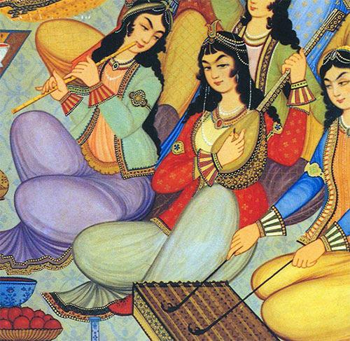 موسیقی در دوران ایران باستان