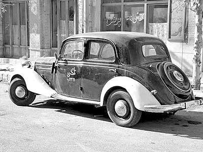قدیمیترین تاکسی تهران