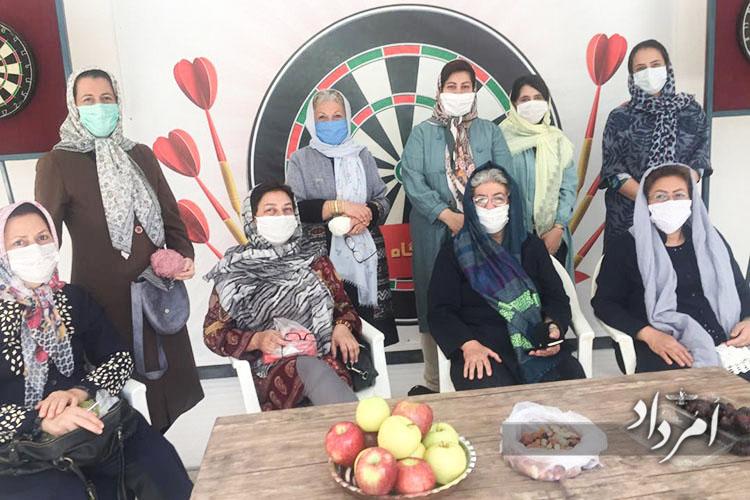 کلاس قلاب بافی در کرمان